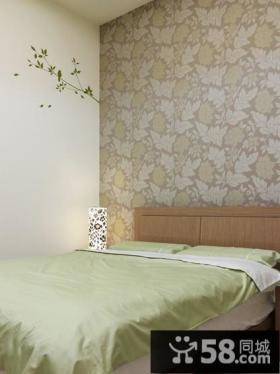 简约风格卧室墙纸设计