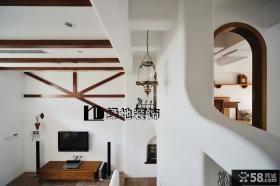 复式楼梯吊顶装修效果图欣赏