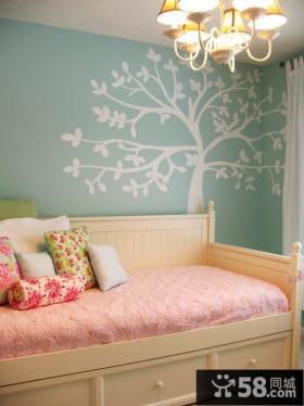 2013儿童卧室墙纸装修效果图