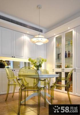 现代家装小餐厅装修效果图欣赏