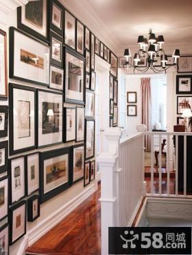 楼梯照片墙设计