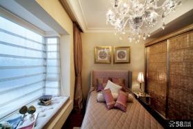 欧式新古典风格小卧室图片欣赏大全