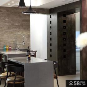简欧家装厨房门口装饰图片欣赏