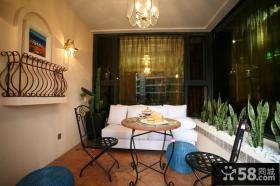 美式风格客厅装修效果图大全2012图片