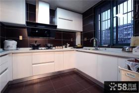 简约设计厨房橱柜图欣赏