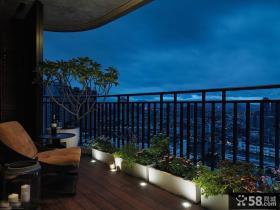 别墅开放式阳台设计图
