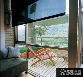 客厅露台阳台装修效果图
