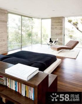 日式家庭装修卧室设计图片