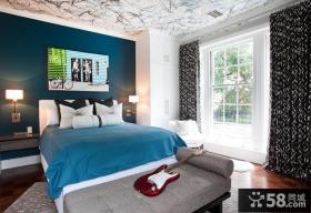 90平米两室两厅女生卧室装修效果图