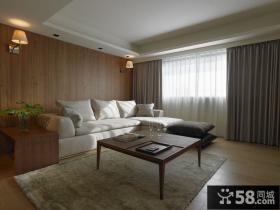 美式实木风格别墅装修效果图
