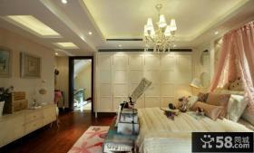 欧式公主卧室装修图片