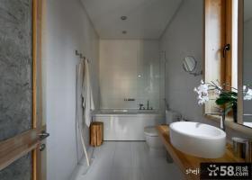 现代风格卫生间浴室装修效果图片