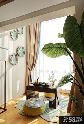 家装设计室内日式阳台图片大全