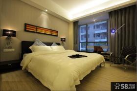 15万打造现代简约三居卧室装修效果图大全2012图片 卧室窗帘图片