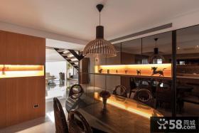 时尚现代复式家居装潢案例