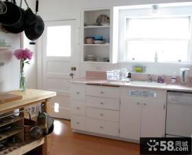 现代风格两室两厅厨房装修效果图