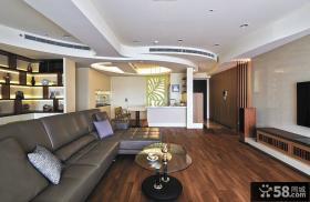 后现代设计130平米四居室欣赏