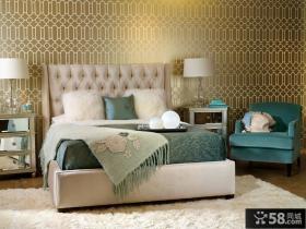 简约风格卧室壁纸图片