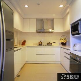 简欧风格室内厨房设计效果图