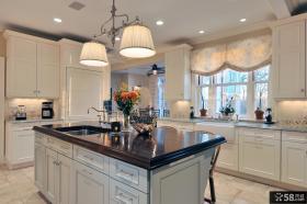 简欧风格整体厨房图片