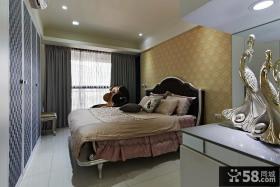 现代简欧风格卧室装饰图片欣赏