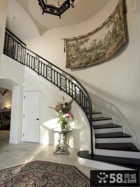 楼梯间墙壁挂毯效果图