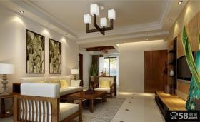 中式风格客厅灯具图片
