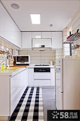 家装整体厨房橱柜效果图片