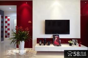 简约婚房电视背景墙装修效果图大全