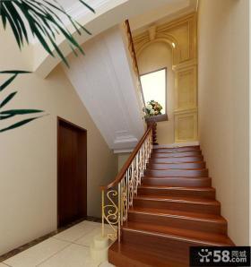 室内阁楼楼梯装修效果图片