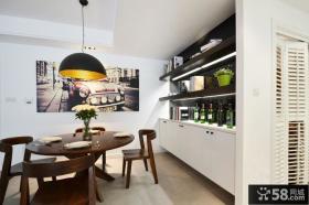 优质宜家风格餐厅装修效果图片