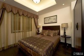 古典中式卧室布置设计