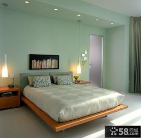 现代简约风格二室一厅装修效果图 两室一厅客厅装修效果图