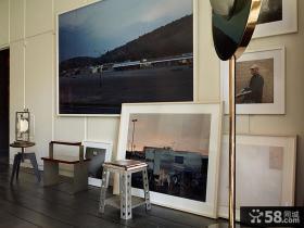现代创意风格室内装饰画设计效果图