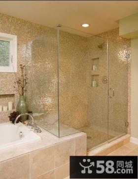 二室二厅现代卫生间装修效果图大全2014图