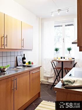 厨房装修效果图 经典的橱柜装饰