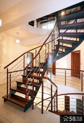 旋转木楼梯图片欣赏大全