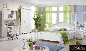 韩式风格卧室组合家具图片欣赏