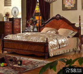 古典欧式实木卧室家具效果图欣赏