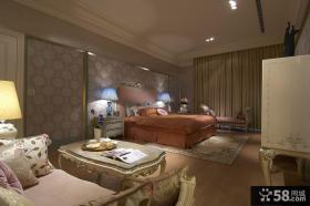 欧式古典时尚设计卧室效果图大全欣赏