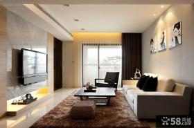现代装饰客厅电视背景墙大全