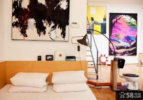 欧式风格卧室照片背景墙装修效果图