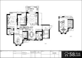 170平米复式楼平面设计图