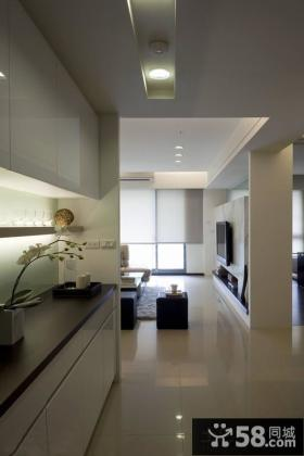 简约家居开放式厨房设计