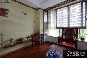 中式风格小户型客厅装修效果图大全