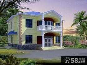 美式风格两层小别墅设计图
