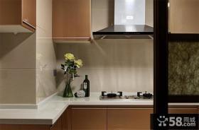 现代家居吸塑橱柜设计图片