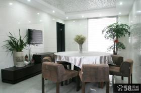 现代风格复式楼户型室内装修效果图