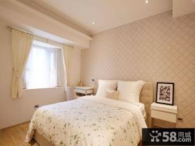 田园风格简约卧室设计装饰效果图片