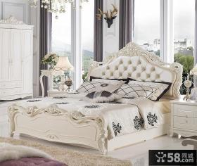 欧式实木卧室家具效果图